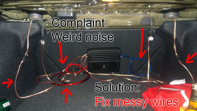 Wiring Car Audio Fail Wiring Diagram Panel Panel Sposamiora It